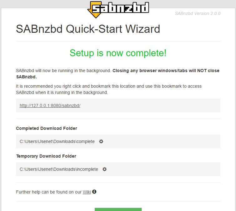 SABnzbd Tutorial 4